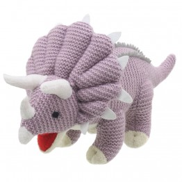 Triceratops - Wilberry Knitted