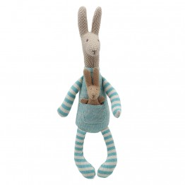 Kangaroo (Blue) - Wilberry Knitted