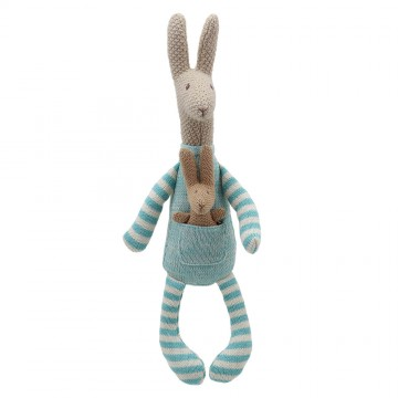 Kangaroo (Blue) - Wilberry Knitted