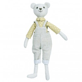 Bear - Boy -  Wilberry Linen Soft Toy