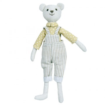 Bear - Boy -  Wilberry Linen Soft Toy