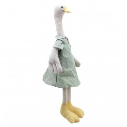 Goose  - Girl -  Wilberry Linen Soft Toy