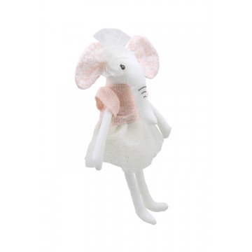 Elephant (Pale Pink) -  Wilberry Linen Soft Toy