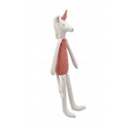 Unicorn - Terracotta -  Wilberry Linen Soft Toy