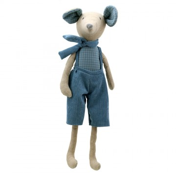 Mouse (Boy Large) -  Wilberry Linen Soft Toy