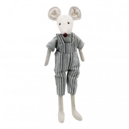 Mouse  - Boy -  Wilberry Linen Soft Toy