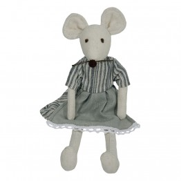 Mouse  - Girl -  Wilberry Linen Soft Toy