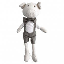 Pig (Boy) -  Wilberry Linen Soft Toy