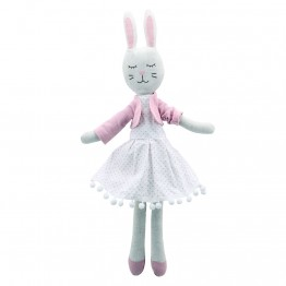 Rabbit - In Dress -  Wilberry Linen Soft Toy
