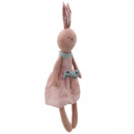 Rabbit - Pink - Wilberry Linen
