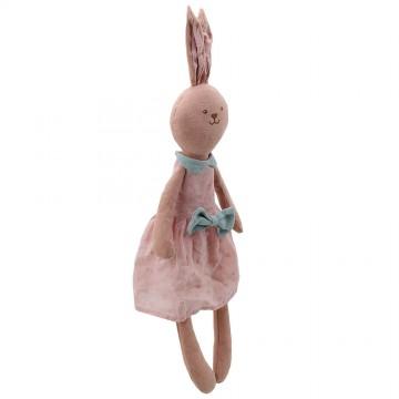 Rabbit - Pink - Wilberry Linen