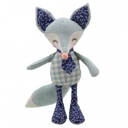 Fox - Blue - Wilberry Linen