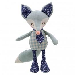Fox - Blue - Wilberry Linen