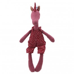 Unicorn - Red - Wilberry Linen