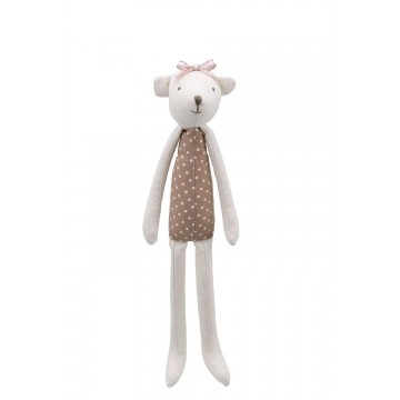 Bear (Brown) -  Wilberry Linen Soft Toy