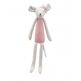 Mouse (Pink) -  Wilberry Linen Soft Toy