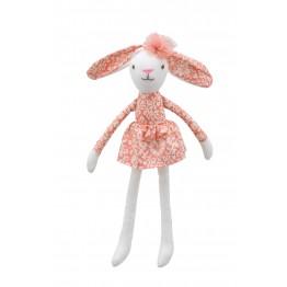 Hare (Orange Dress) -  Wilberry Linen Soft Toy