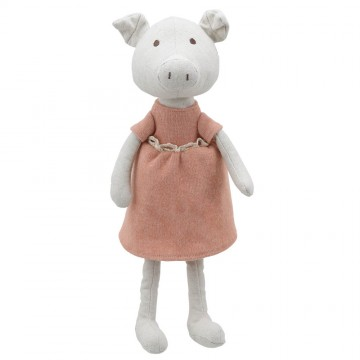 Pig (Girl) -  Wilberry Linen Soft Toy