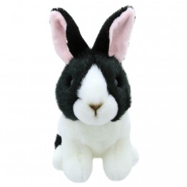 Black and White Dutch Rabbit - Wilberry Mini Soft Toy