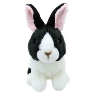 Black and White Dutch Rabbit - Wilberry Mini Soft Toy