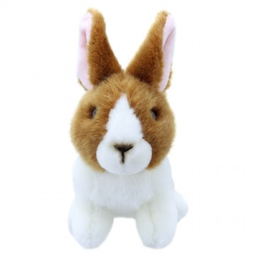 Brown and White Rabbit - Wilberry Mini Soft Toy