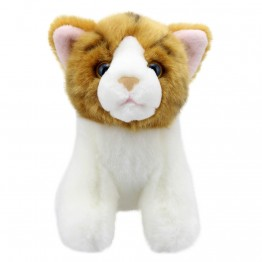 Gold Striped Cat - Wilberry Mini Soft Toy