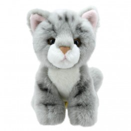 Grey Striped Cat - Wilberry Mini Soft Toy