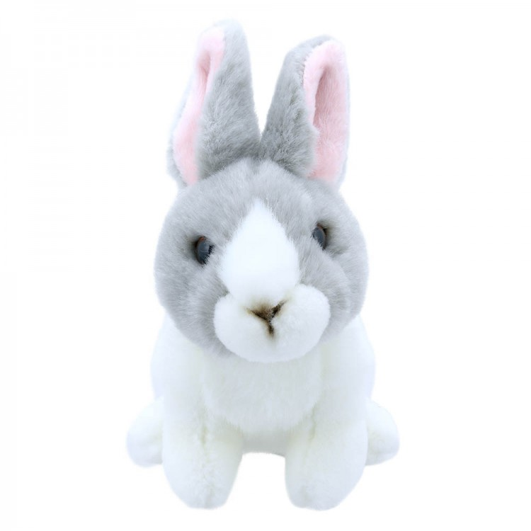 1771c01bebf Out of stock! Grey and White Rabbit - Wilberry Mini Soft Toy