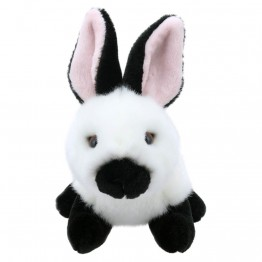 White and Black Rabbit - Wilberry Mini Soft Toy