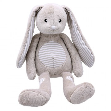 Grey Rabbit - Wilberry Patches Soft Toy
