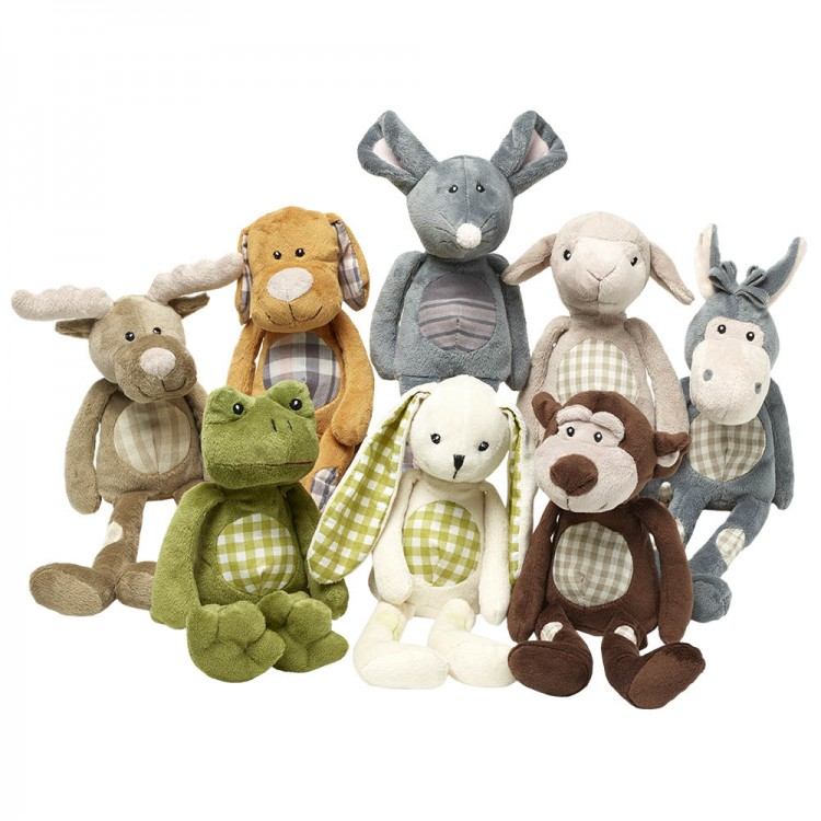 9322abb6545 White Rabbit - Wilberry Patches Soft Toy