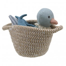 Duck (blue) - Wilberry Pets in Baskets