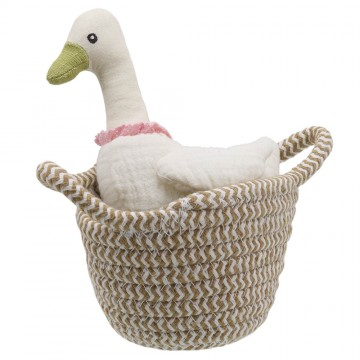 Duck (white) - Wilberry Pets in Baskets