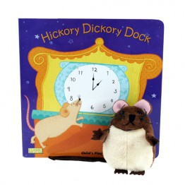 Hickory Dickory Dock Book with Puppet