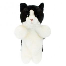 Black & White Cat Hand Puppet