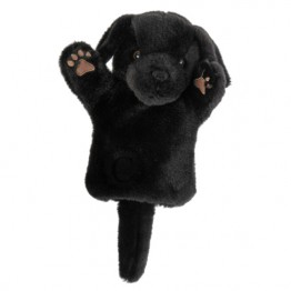 Black Labrador CarPet Glove Puppet