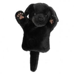 Black Labrador CarPet Glove Puppet
