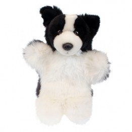Border Collie Hand Puppet