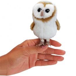 Barn Owl Mini Finger Puppet