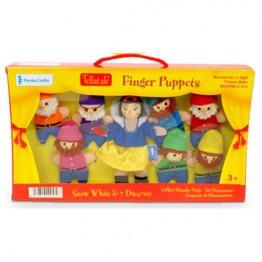 Snow White & 7 Dwarves Finger Puppet Boxed Set