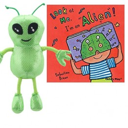 Look At Me I'm An Alien! Book with Puppets