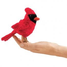 Mini Cardinal Finger Puppet