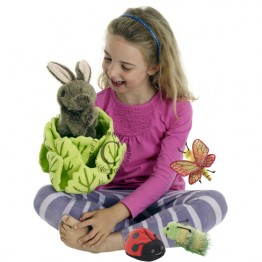 Rabbit in Lettuce (With 3 Mini Beasts)