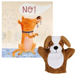 No! Book and My First Dog Puppet