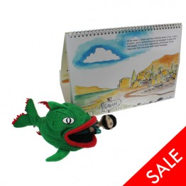 Jonah & the Big Fish Story Book with Puppets