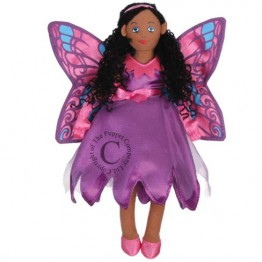Butterfly Fairy (Dark Skin) Finger Puppet