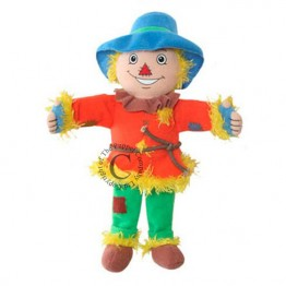 Dingle Dangle Scarecrow Finger Puppet