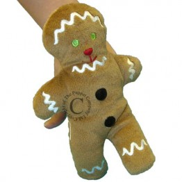 Gingerbread Man Walking Finger Puppet