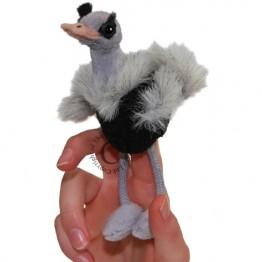 Ostrich Finger Puppet