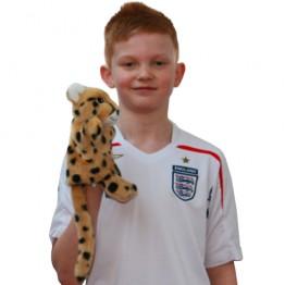 Cheetah Hand Puppet